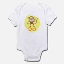 Monkey Do (yellow) Infant Bodysuit