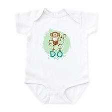Monkey Do (green) Infant Bodysuit