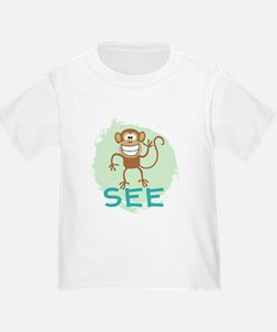 Monkey See (green) T