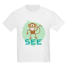 Monkey See (green) T-Shirt