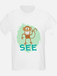 Monkey See (green) T-Shirt