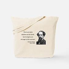 Charles Dickens 8 Tote Bag