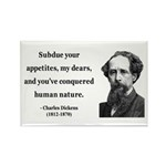 Charles Dickens 7 Rectangle Magnet (10 pack)