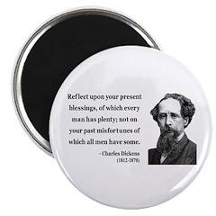 "Charles Dickens 6 2.25"" Magnet (100 pack)"