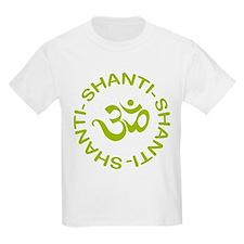 Om Shanti Shanti Shanti T-Shirt