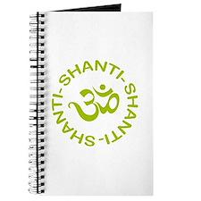 Om Shanti Shanti Shanti Journal