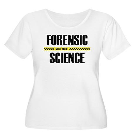Crime Scene Women's Plus Size Scoop Neck T-Shirt