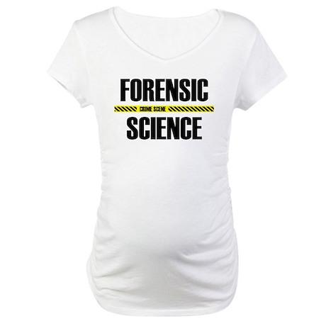 Crime Scene Maternity T-Shirt