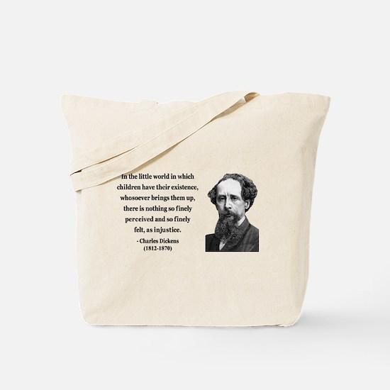 Charles Dickens 4 Tote Bag