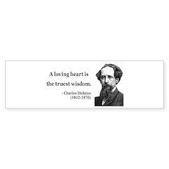 Charles Dickens 3 Bumper Bumper Sticker