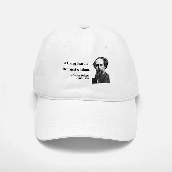 Charles Dickens 3 Baseball Baseball Cap