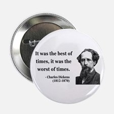 "Charles Dickens 2 2.25"" Button"