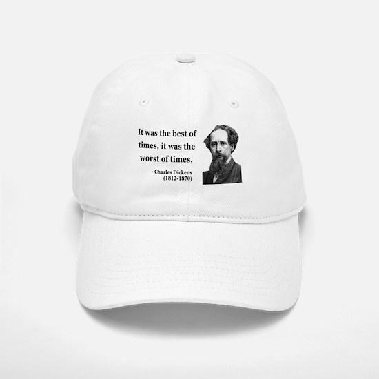 Charles Dickens 2 Baseball Baseball Cap