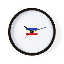 Germany Mecklenburg-Western P Wall Clock