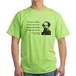 Charles Dickens 1 Green T-Shirt