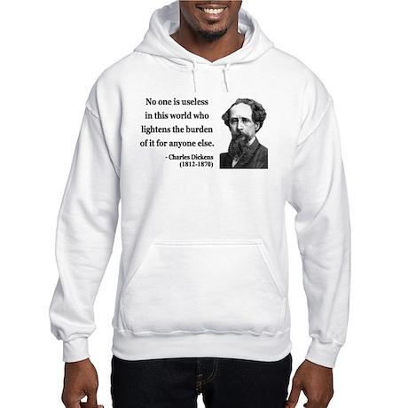 Charles Dickens 1 Hooded Sweatshirt
