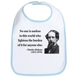 Charles Dickens 1 Bib
