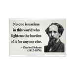 Charles Dickens 1 Rectangle Magnet (100 pack)
