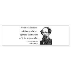 Charles Dickens 1 Bumper Sticker