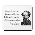 Charles Dickens 1 Mousepad