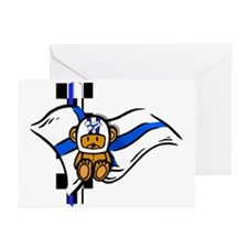 Finlands Finnish Racer Greeting Cards (Pk of 20)