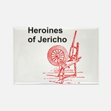 Heroines of Jericho Rectangle Magnet