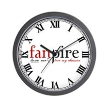 Fanpire Wall Clock