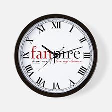 Fanpire Wall Clock