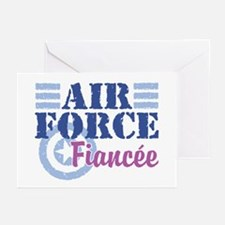 Air Force Fiancee Greeting Cards (Pk of 10)