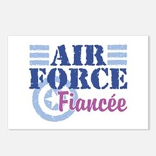 Air Force Fiancee Postcards (Package of 8)