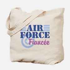 Air Force Fiancee Tote Bag
