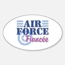 Air Force Fiancee Oval Decal