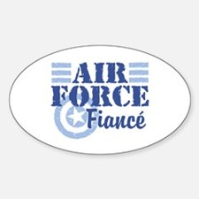 Air Force fiance Oval Decal