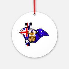 Australian Racing Round Ornament