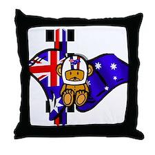 Australian Oz oz oz Throw Pillow