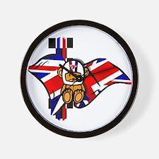 British Racing Wall Clock