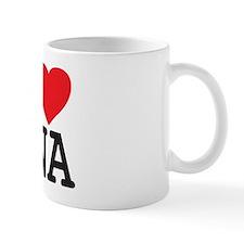 I Heart DNA Mug