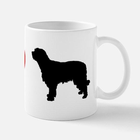I Heart Catalan Sheepdog Mug
