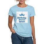 1st Birthday Prince Taivon! Women's Light T-Shirt