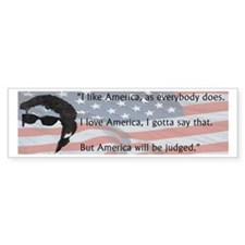 Dylan Quote Bumper Car Sticker