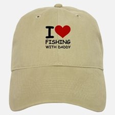 FISHING WITH DADDY Baseball Baseball Cap