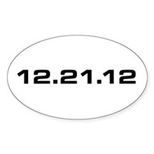 12.21.12 Oval Decal