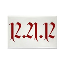 12.21.12 Rectangle Magnet