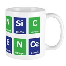 Periodic Table Small Mug