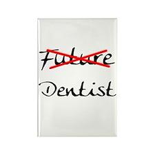 No Longer Future Dentist Rectangle Magnet