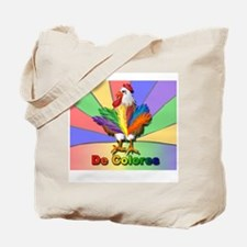 Rooster Tail De Colores Tote Bag