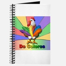 Rooster Tail De Colores Journal