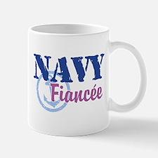 Navy Fiancee Mug