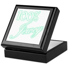 100% Jewcy - Green Keepsake Box