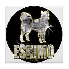 Bling Eskimo Tile Coaster